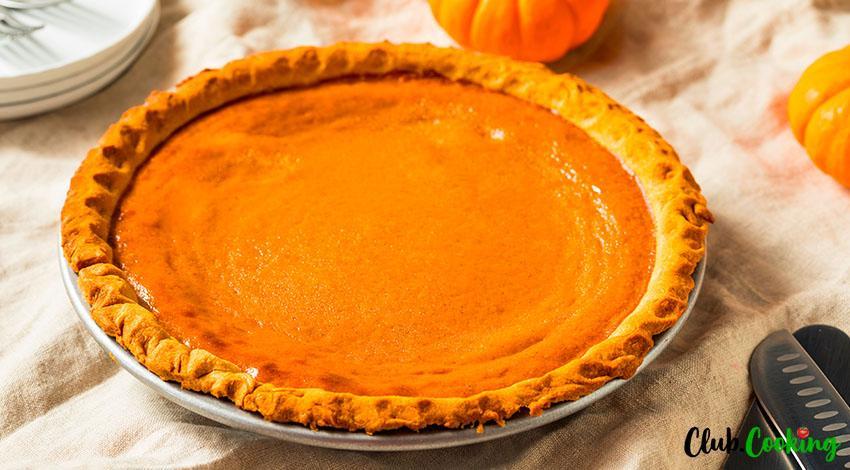 Pumpkin Pie 🥘