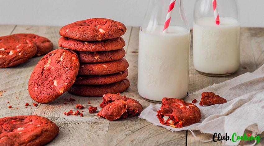 Red Velvet Cookies 🥘