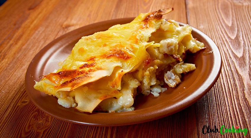 Seafood Lasagna 🥘