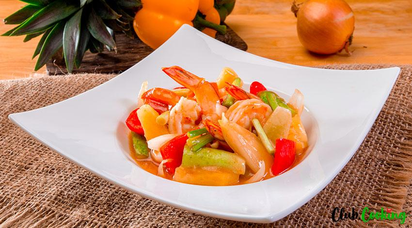 Sweet And Sour Shrimp 🥘