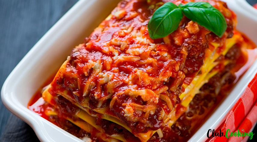 Turkey Lasagna 🥘