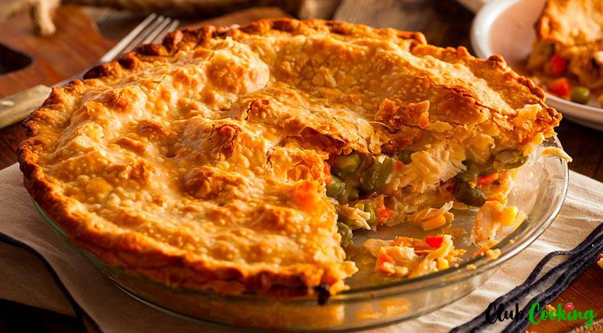 Turkey Pot Pie 🥘