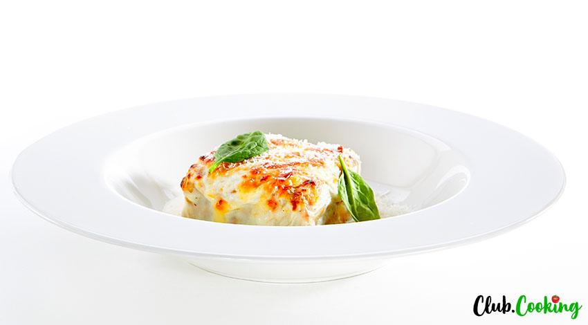 Vegetable Lasagna With White Sauce 🥧