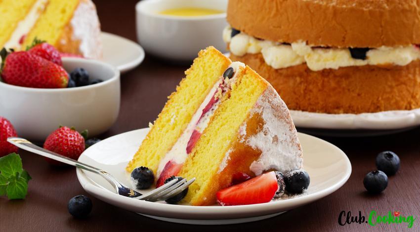 Genoise Cake 🥘