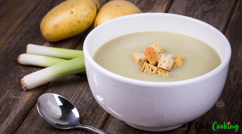 Kartoffel Lauch Suppe 🥘