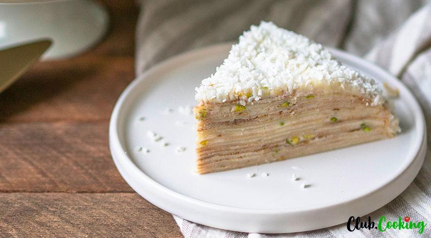 Coconut Cream Cake 🥘