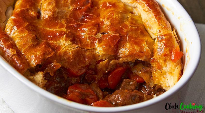 Beef Pot Pie 🥘