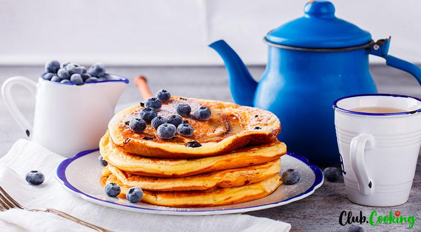 Blueberry Pancakes 🥘