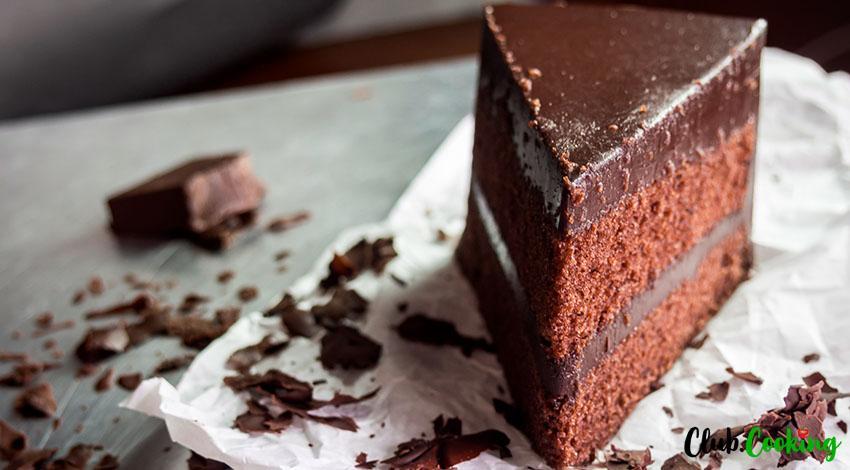 Chocolate Fudge Cake 🥘