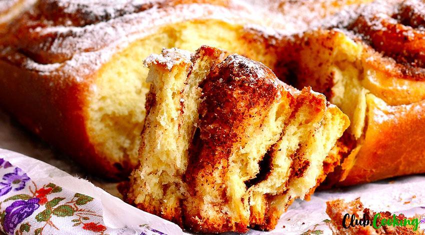 Cinnamon Pie 🥘