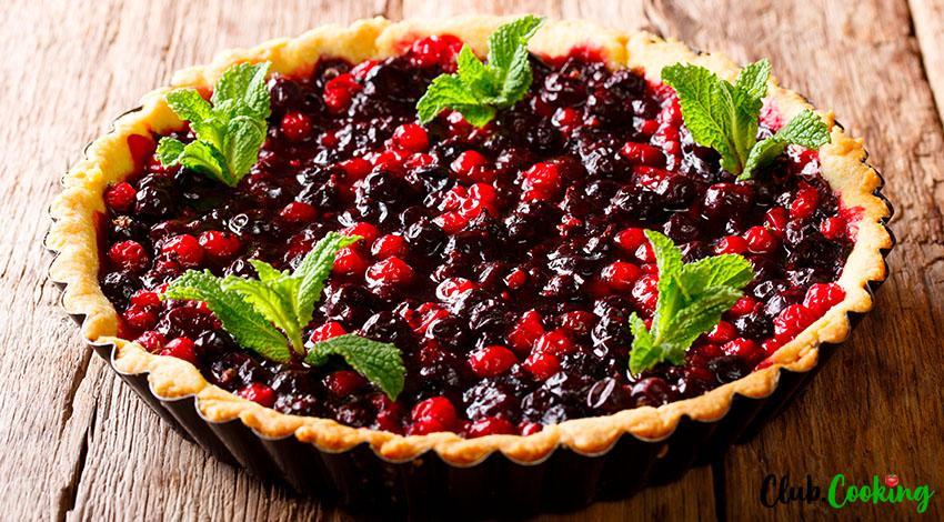 Cranberry Pie 🥘