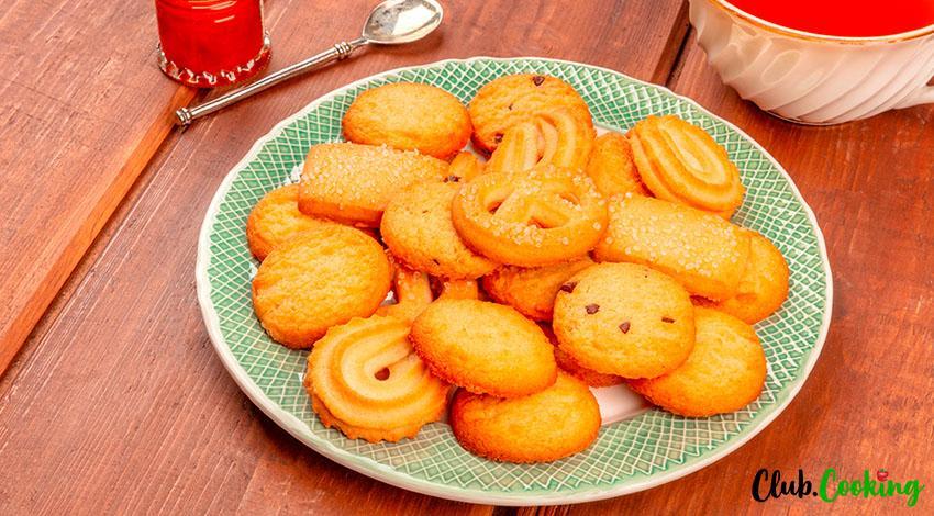 Danish Butter Cookies 🥘