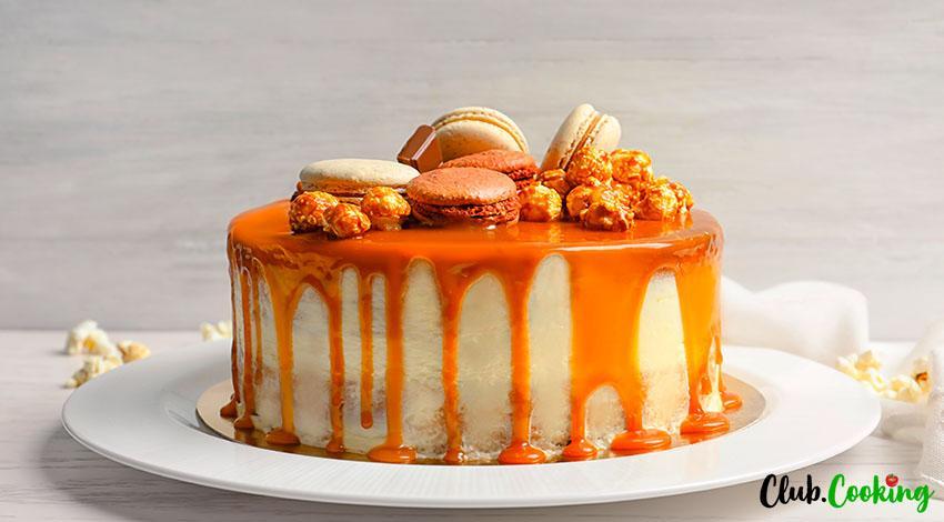 Dulce Con Leche Cake 🥘