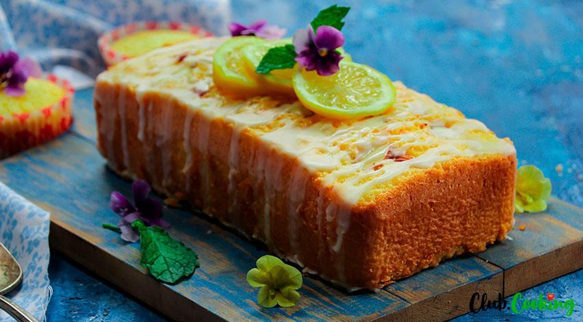 Lemon Drizzle Cake 🥘