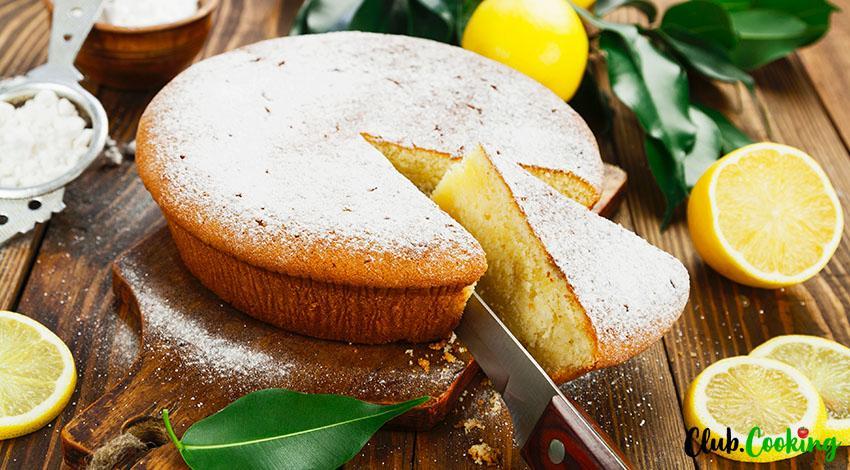 Lemon Zucchini Cake 🥘