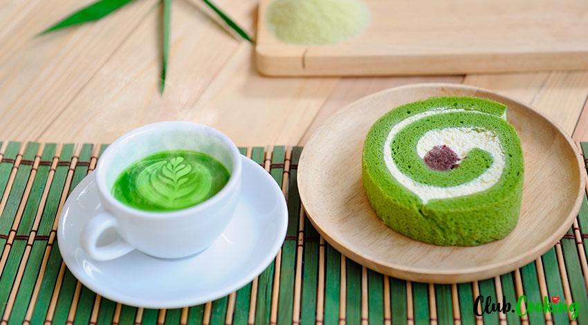Matcha Cake 🥘