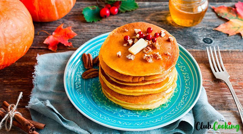 Pumpkin Pancakes 🥘