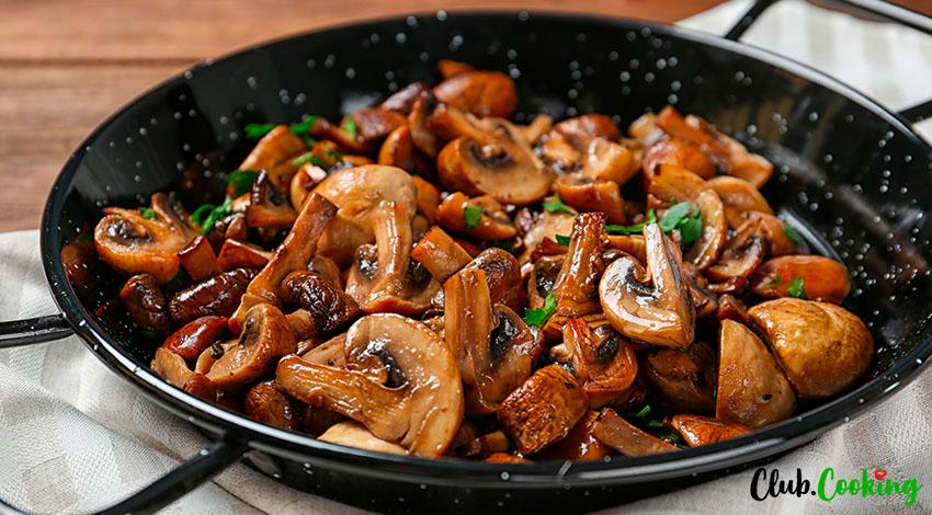 Roasted Mushrooms 🥘