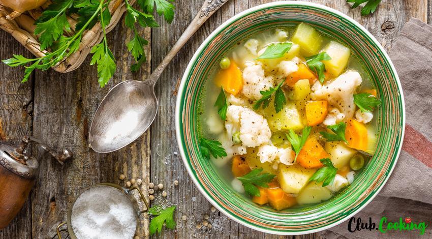 Soupe de légumes 🥘