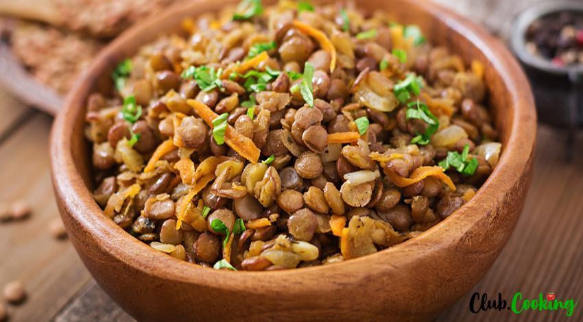 Salade de lentilles aux légumes 🥘