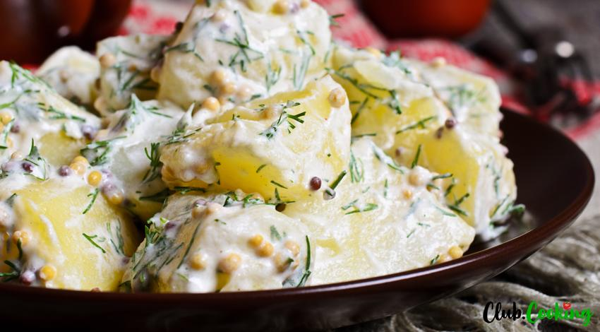 Salade de pommes de terre à la grecque ?