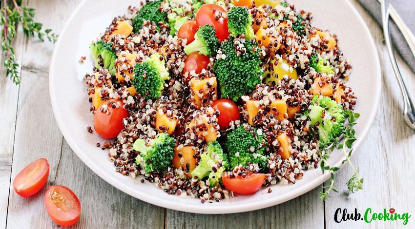 Salade de quinoa 🥘