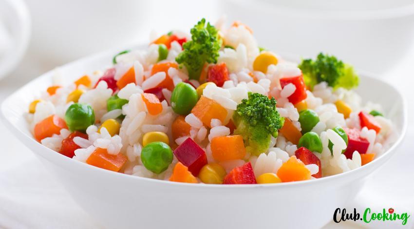 Salade de riz 🥘