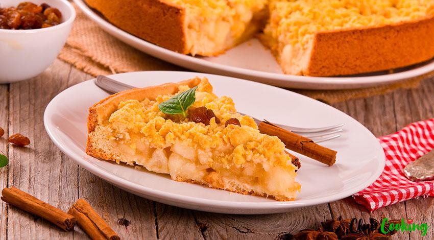 Apple Cinnamon Cake 🥘