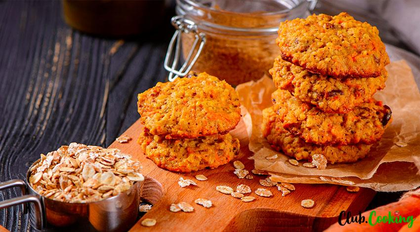 Carrot Cake Cookies 🥘