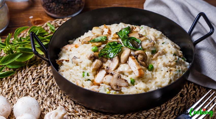 Chicken Risotto 🥘