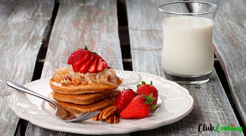 Cinnamon Pancakes 🥘