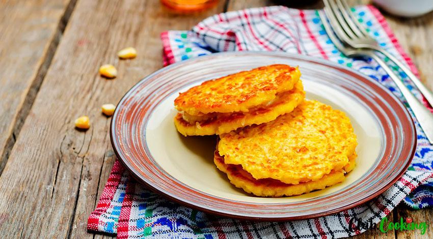 Corn Pancakes 🥘