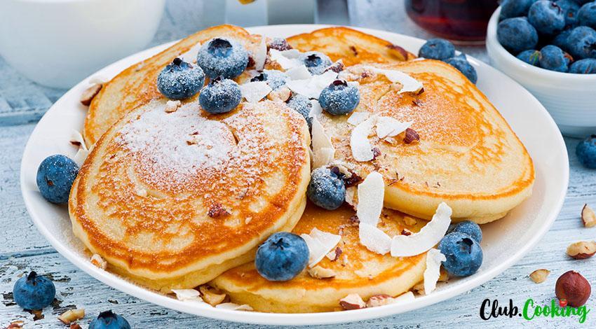 Eggless Pancakes 🥘