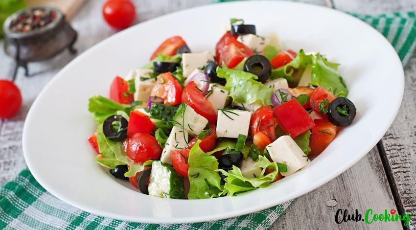 Salade Grecque 🥘