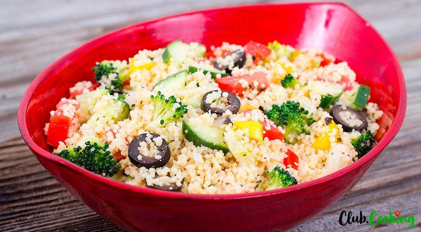 Greek Couscous Salad 🥘
