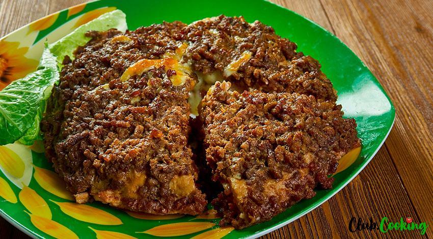 Lasagna Stuffed Meatloaf 🥘