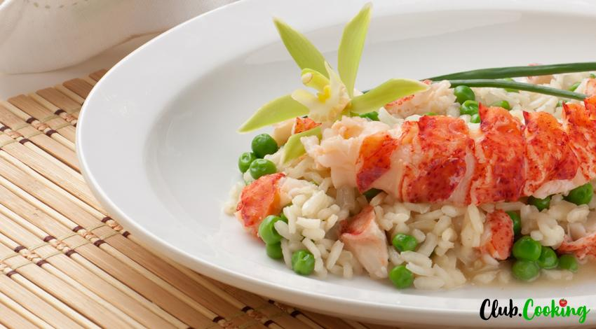 Lobster Risotto 🥘