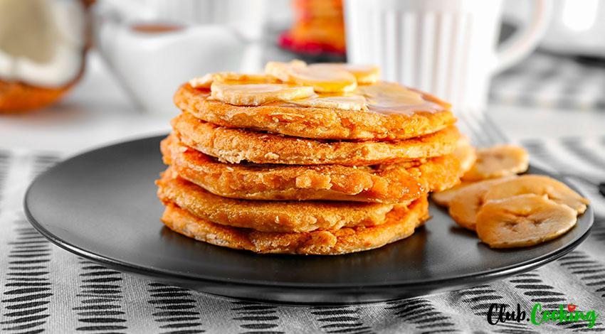 Paleo Banana Pancakes 🥘
