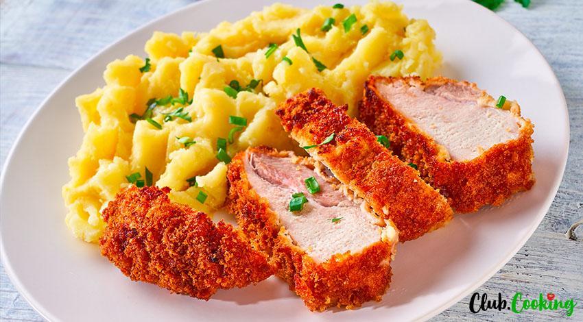 Parmesan Crusted Pork Chops 🥘