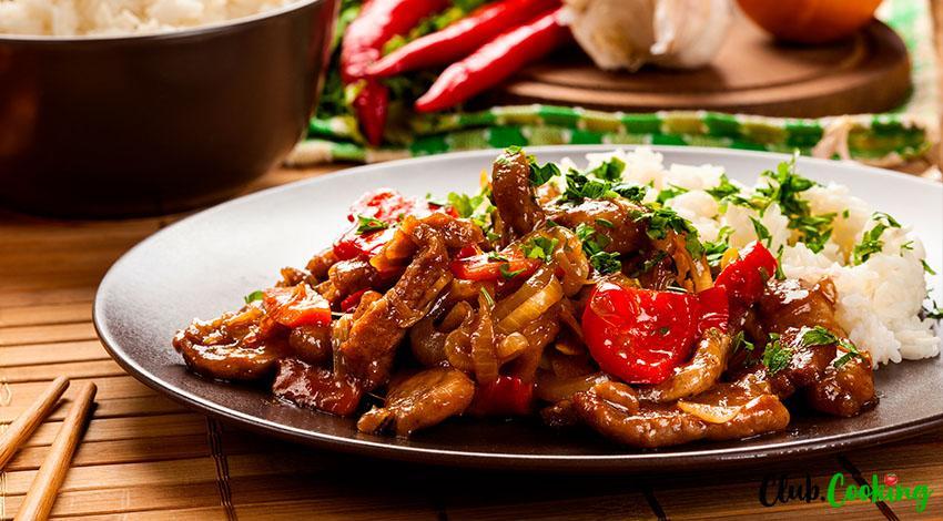 Pork Stir Fry 🥘