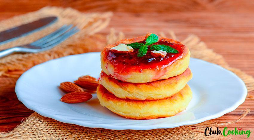 Ricotta Pancakes 🥘
