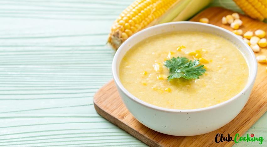 Soupe de Maïs 🥘