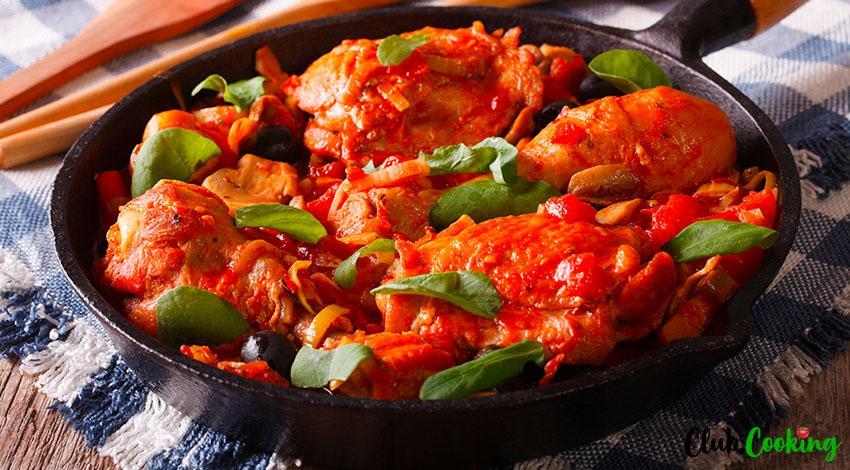 Brown Stew Chicken 🥘