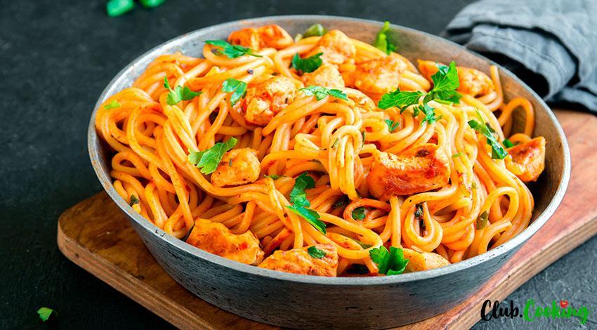 Chicken And Pasta 🥘