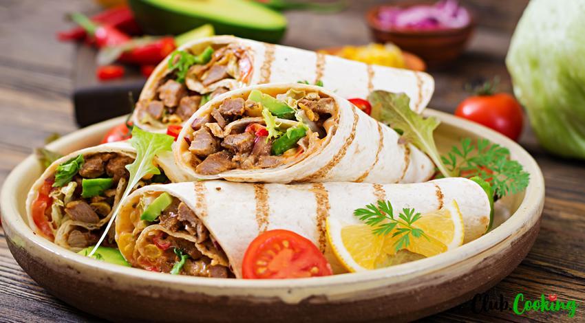 Chicken Burrito 🥘
