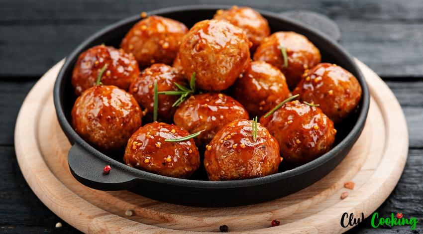 Chicken Meatballs 🥘