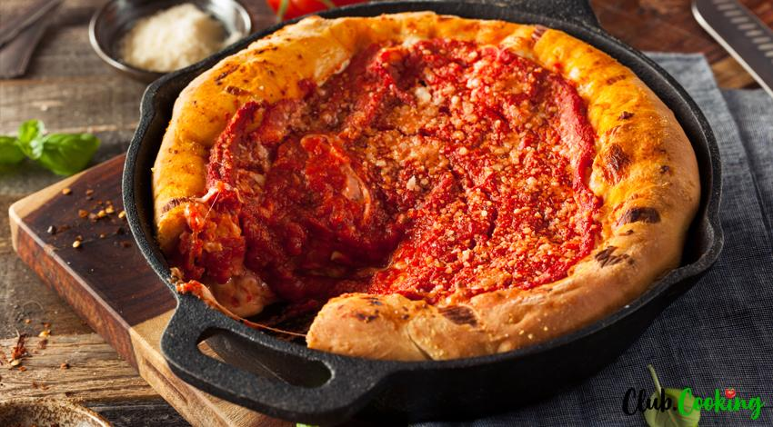 Chicago Style Pizza 🥘