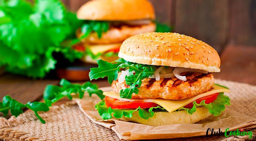 Chicken Burger 🥘