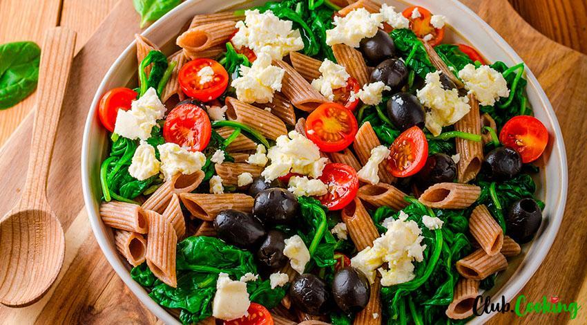 Healthy Pasta Salad 🥘