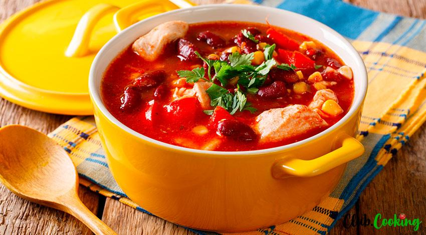 Mexican Chicken Soup 🥘